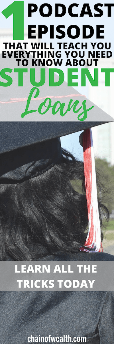 Check out this strategy to get out of student loan debt- you don't want to miss this!